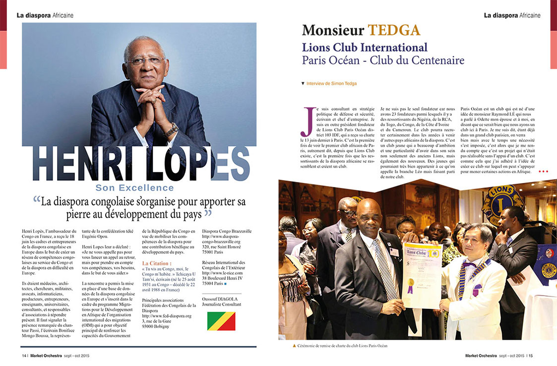 Pages 14-15, édition sept-oct 2015