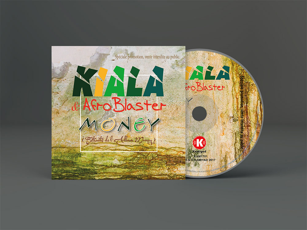 Packaging CD promotionnel Kiala Nzavontunga et AfroBlaster, 2016