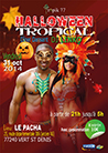Affiche Halloween tropical 2014