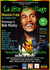 Hommage à Bob Marley campaign poster