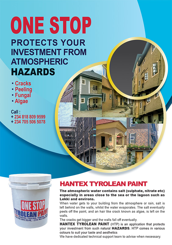 Hantex ONE STOP Tyrolean Paint advert